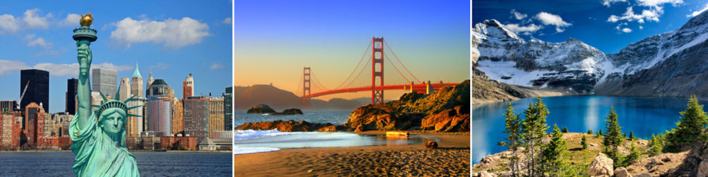 USA Bilder New York, Golden Gate